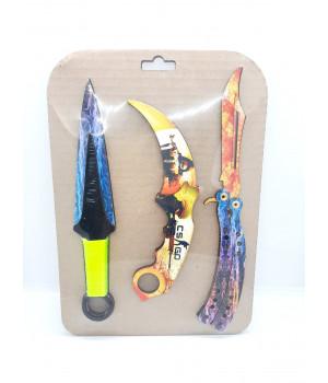 Набор ножей деревянных