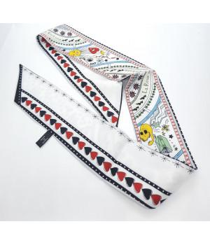 Лента для волос галстук Твилли