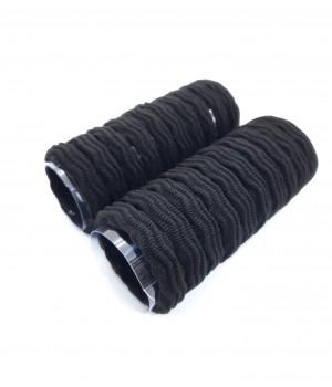 Бесшовные резинки волна чёрные 20 шт