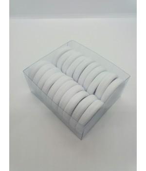 Набор бесшовных резинок белые