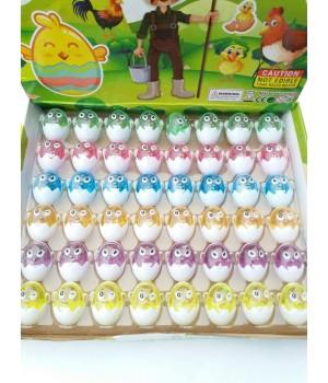 Слайм мини яйцо
