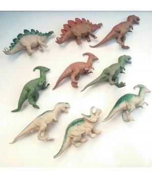 Силиконовый динозавр ассорти
