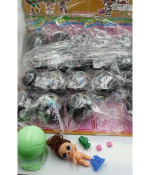 Кукла LOL с волосами в шаре