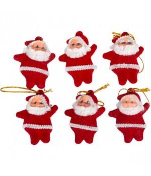 Набор игрушек на ёлку Дед Мороз