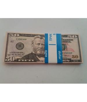 Сувенирные деньги 50 $