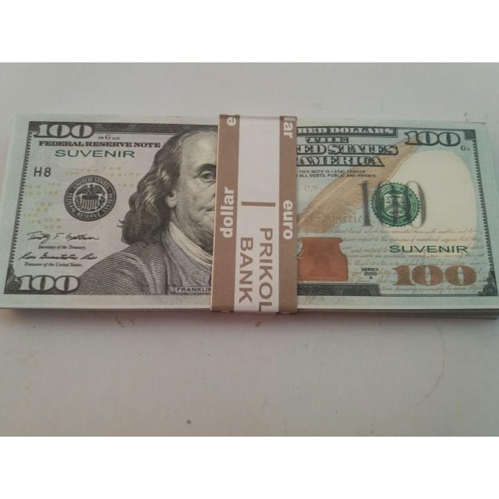Сувенирные деньги 100 $