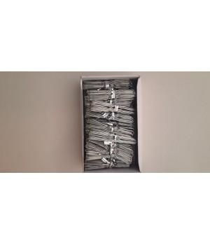 Шпилька серебро 6 см