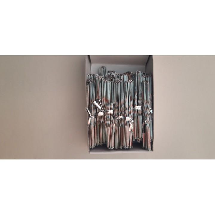 Шпилька серебро 8 см