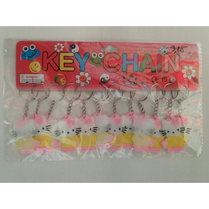 Резиновый брелок Hello Kitty