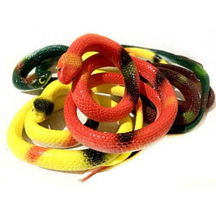 Силиконовая змея 65 см.