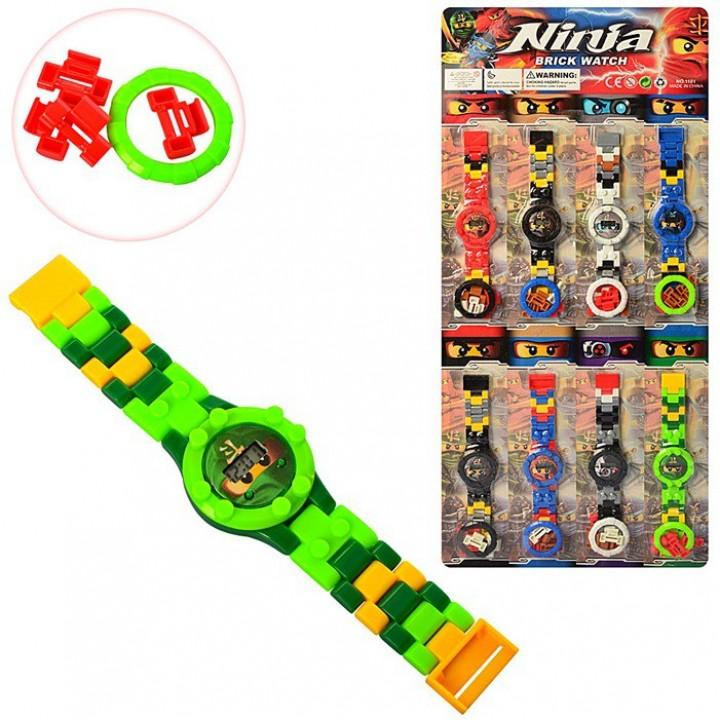 Часы детские Ninjago конструктор