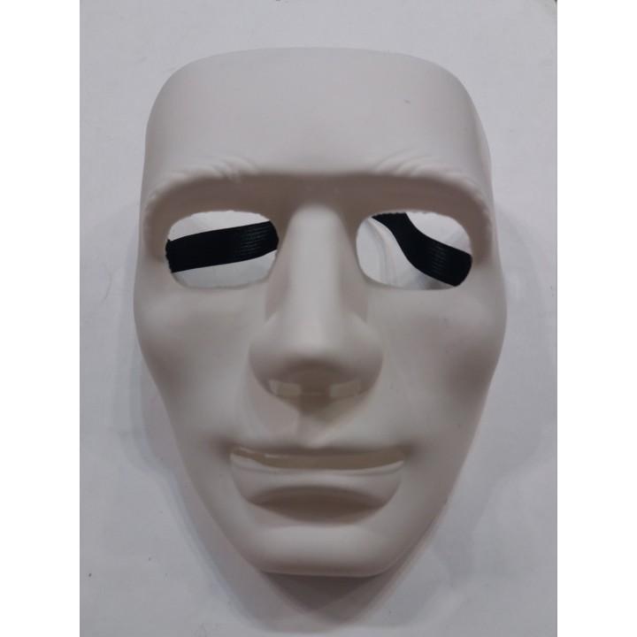 Маска белая без лица