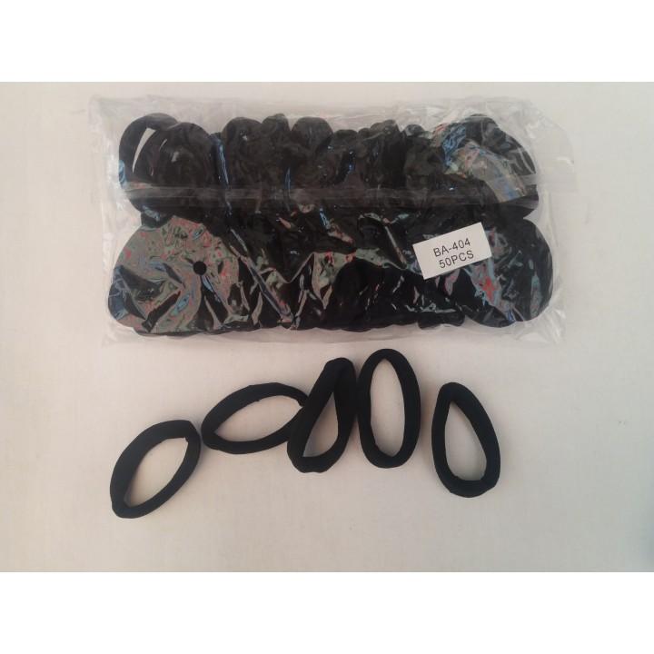 Бесшовные резинки черные