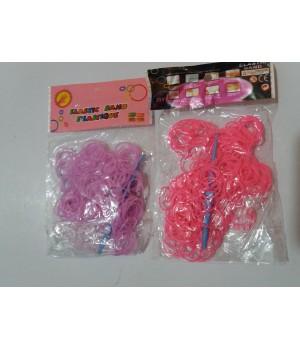 Резинки для плетения браслетов+аксесуары