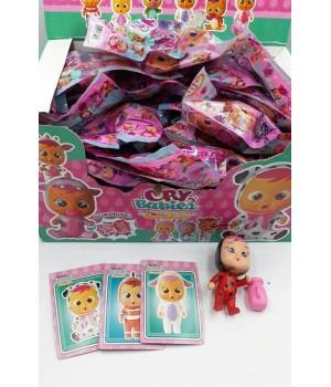 Кукла Cry Baby с карточкой