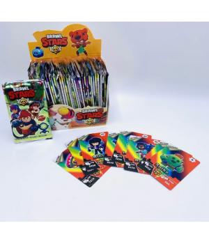 Карточки к игре BRAWL STARS 8 штук