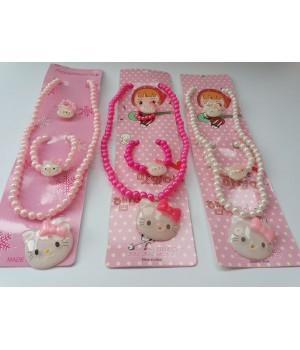 Набор детской бижутерии Hello Kitty