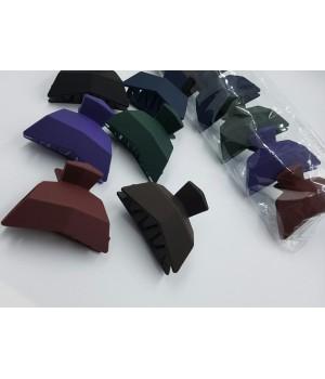 Крабик для волос каучук ассорти