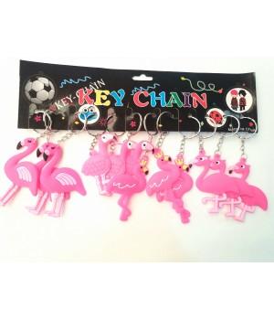 Брелок Фламинго резиновый