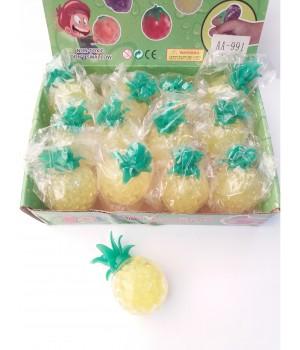 Лизун ананас с гидрогелем