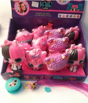 Игровой набор Pop Pop Hair кукла расческа