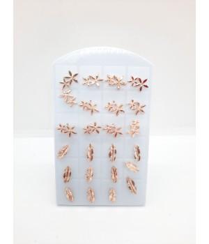 Сережки гвоздики лепесток и цветки