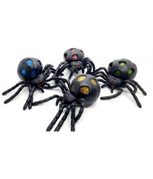 Антистресс паук с блестками