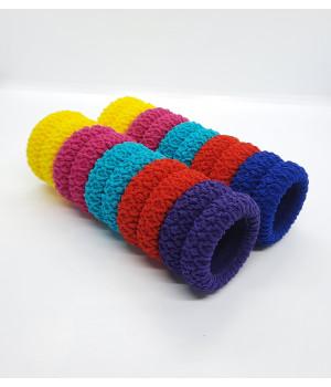 Бесшовные резинки цветные