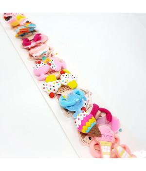 Детская резинка резиновое Мороженое